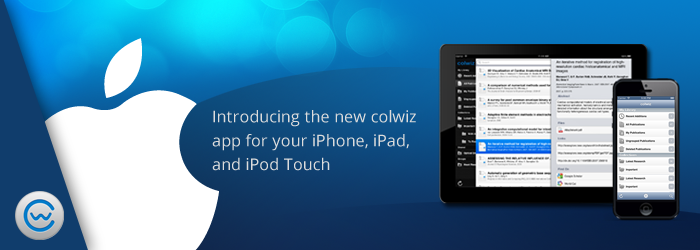 colwiz launched a new version for iPhone and iPad