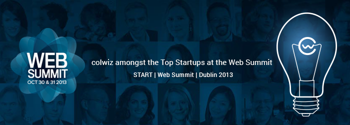 colwiz at exclusive START event at Dublin Web Summit