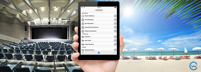 Take your research on holiday with a free iPad mini!