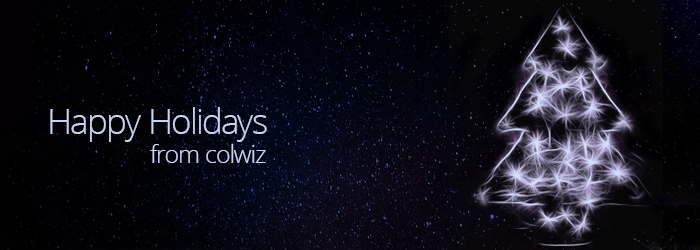 Happy Holidays from the colwiz Team
