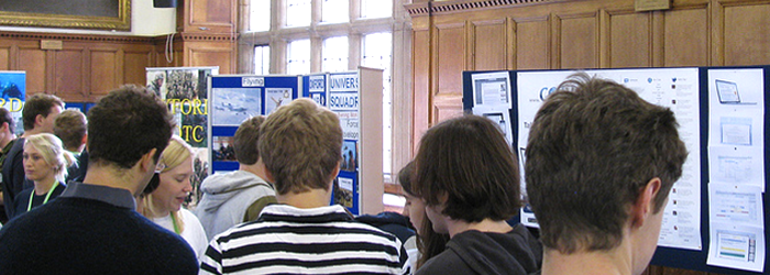 colwiz at Oxford University Freshers' Fair